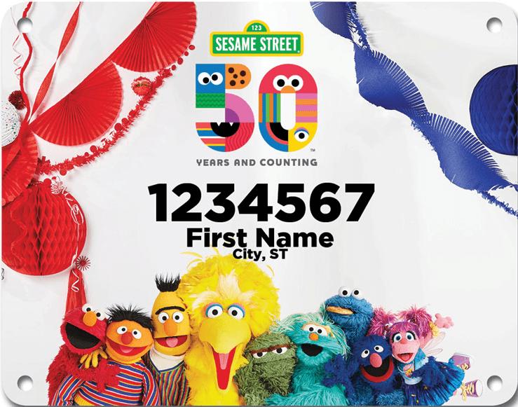 Sesame Street 50 Year Anniversary Virtual Race 3
