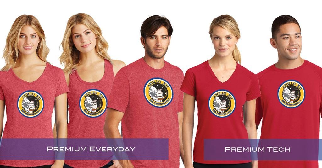 Apollo 12 Shirts