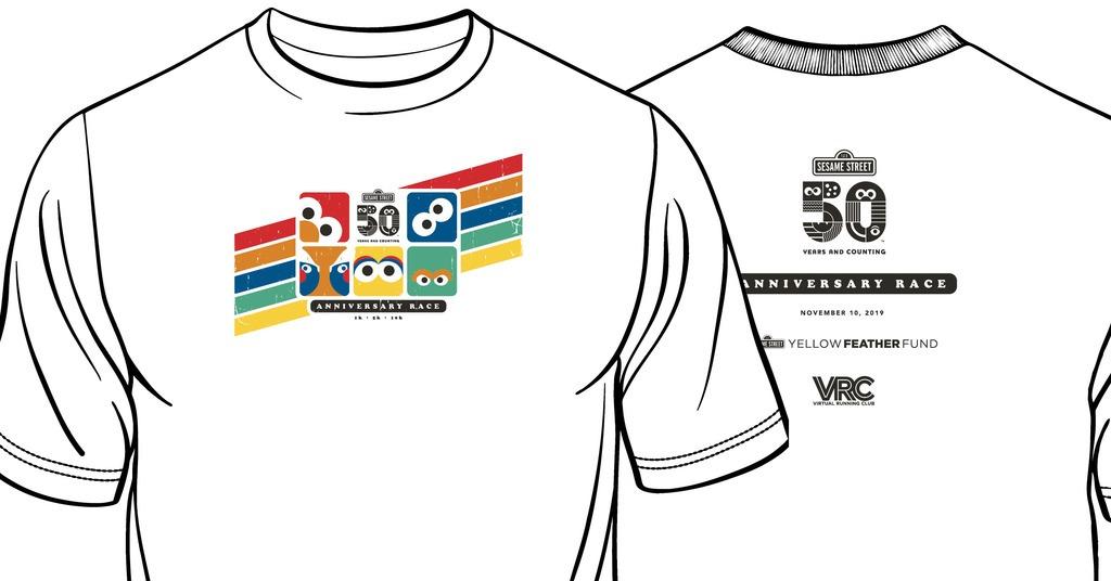 Sesame Street 50 Year Anniversary Virtual Race 2