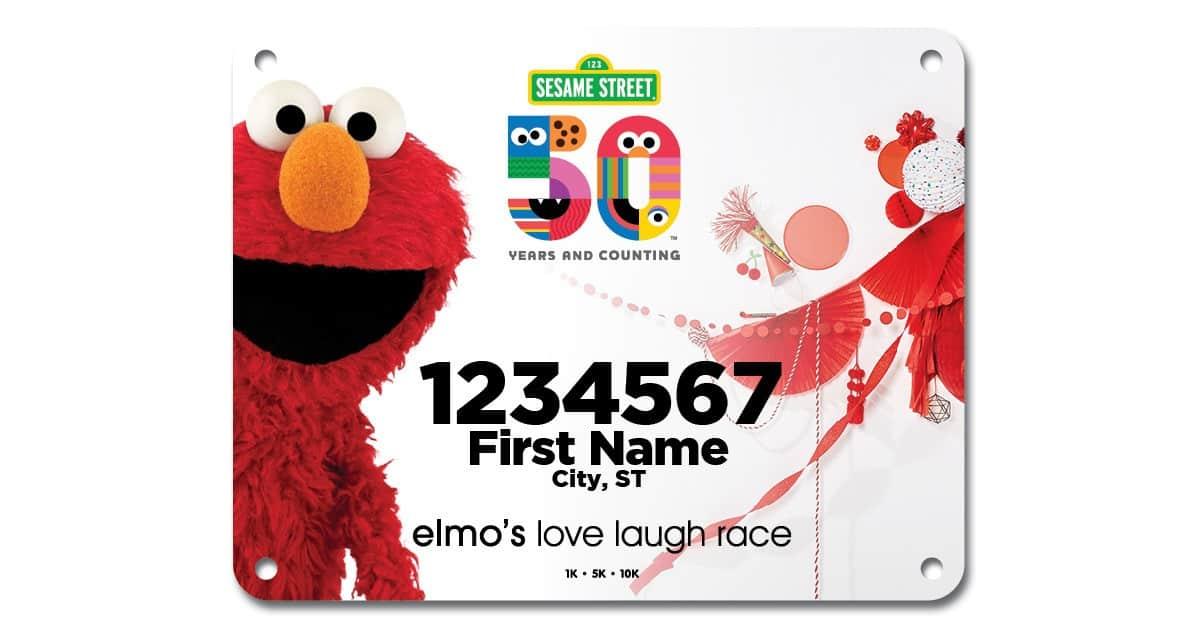Elmo's Love Laugh Virtual Race 3
