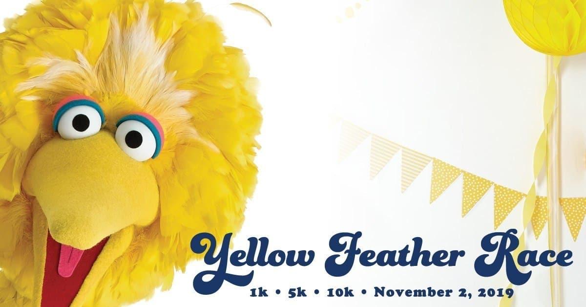 Big Bird's Yellow Feather Virtual Race 1