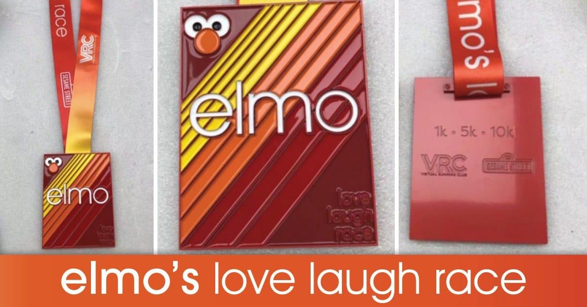 Elmo's Love Laugh Virtual Race 4