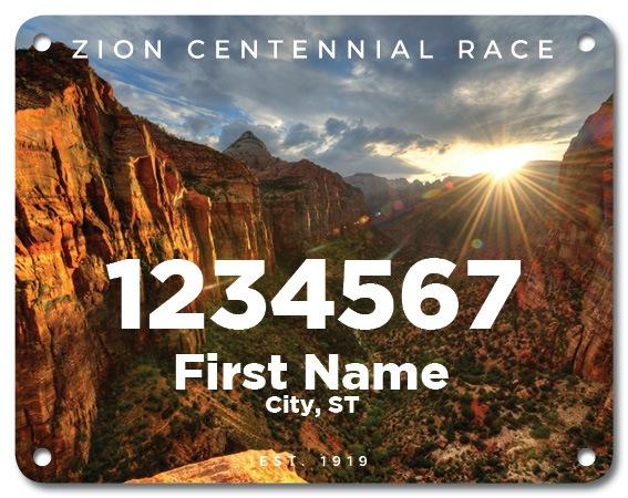 Zion National Park 100th Anniversary Virtual Race 3
