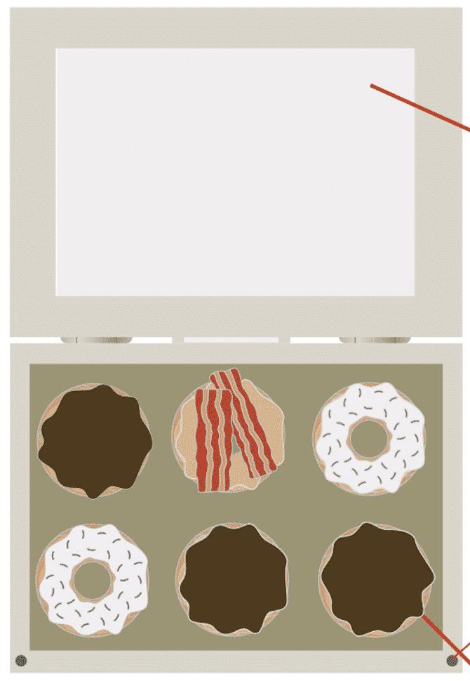 Donut Dash Medal