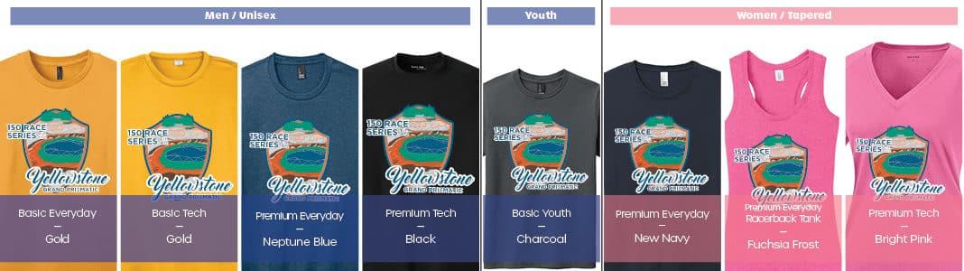 Grand Prismatic Shirts