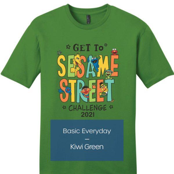 Get To Sesame Street Challenge Shirt - Basic Everyday 1