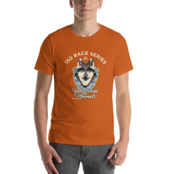 Yellowstone Animals Short-Sleeve Unisex T-Shirt 3