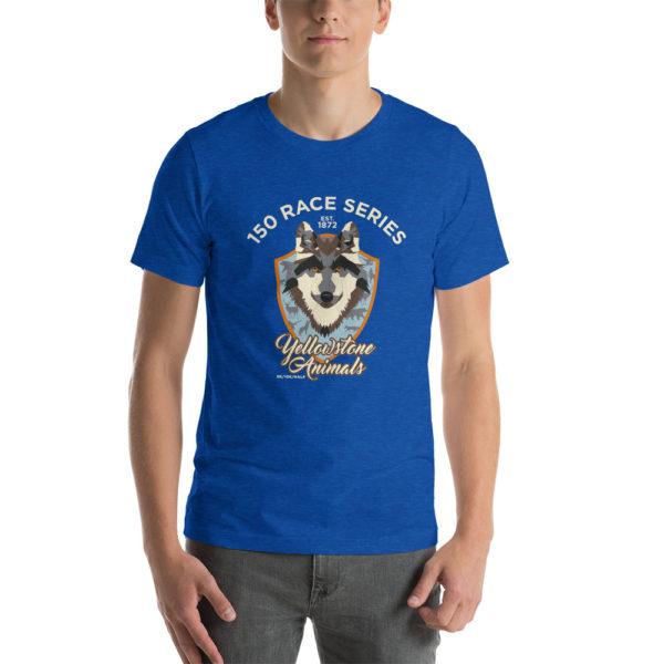 Yellowstone Animals Short-Sleeve Unisex T-Shirt 1